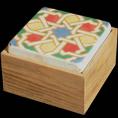 Cajas con tapa de mármol