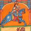Rey Alfonso IX. 26x19 cm