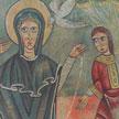 Anunciación Sant Pere de Sorpe s.XII  84x100 cm.