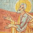 Profeta Isaías Sant Pere del Burgal. 22x26 cm.