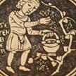 Marca páginas septiembre (calendario agrícola de San Isidoro).